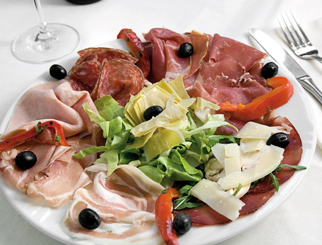 affettati, affettati misti, menu di carne, ristoranti riccione, migliori ristoranti a riccione, da lele riccione