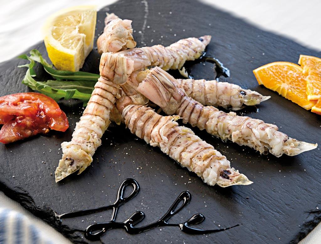 canocchie, piatti di pesce, menu di pesce, ristoranti pesce riccione, da lele riccione