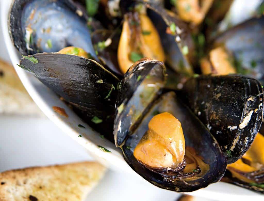 cozze, piatti di pesce, menu di pesce, ristoranti pesce riccione, da lele riccione