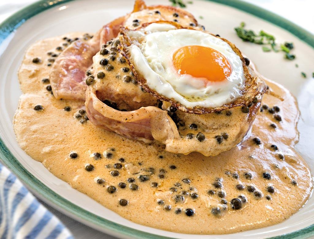 filetto di tonno al pepe verde, menu di pesce, ristoranti pesce riccione, da lele riccione