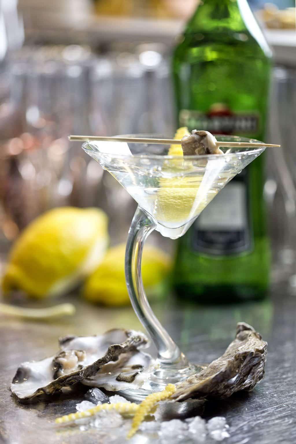 oyster martini, cocktail migliori, cocktail da lele, da lele riccione