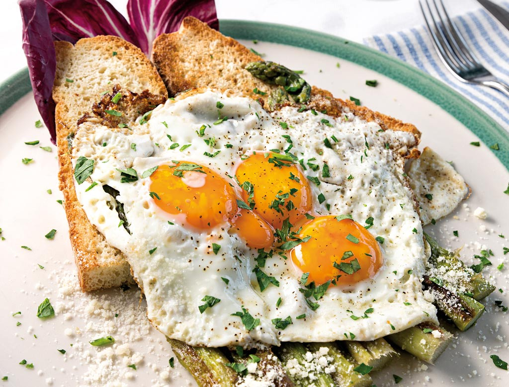 uova con asparagi, ristoranti riccione, migliori ristoranti a riccione, da lele riccione