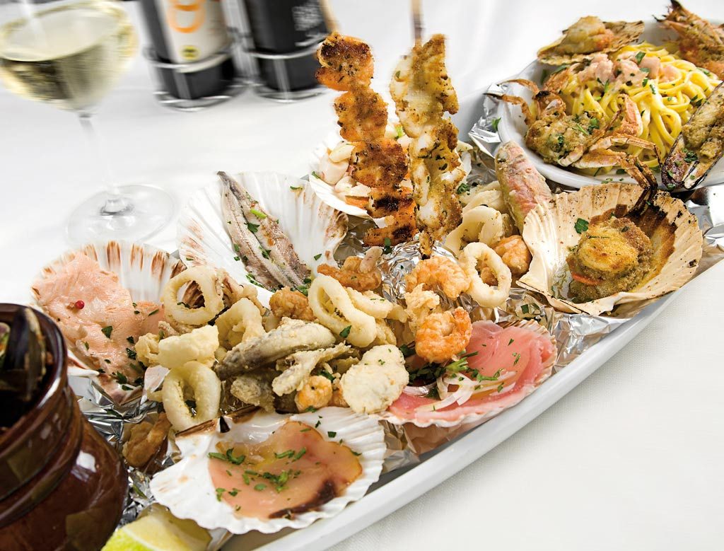vanoni, menu di pesce, ristoranti pesce riccione, da lele riccione