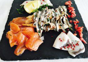 menu di pesce, marinatura pesce