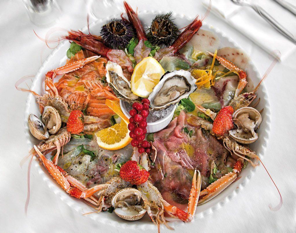 pesce crudo benefici ristorante da lele riccione